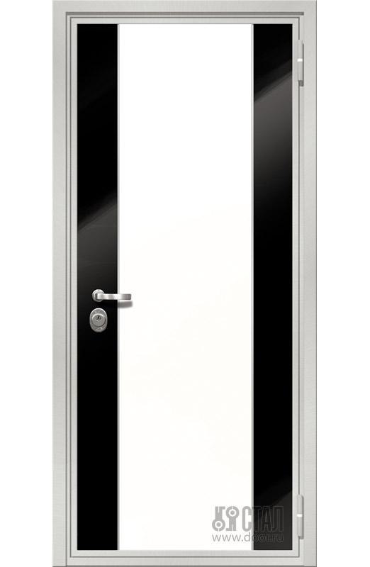 декоративные дверные панели монохром на основе мдф