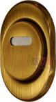 поворотный протектор DiSec на сувальдные скважины, цвет-бронза, закрытый